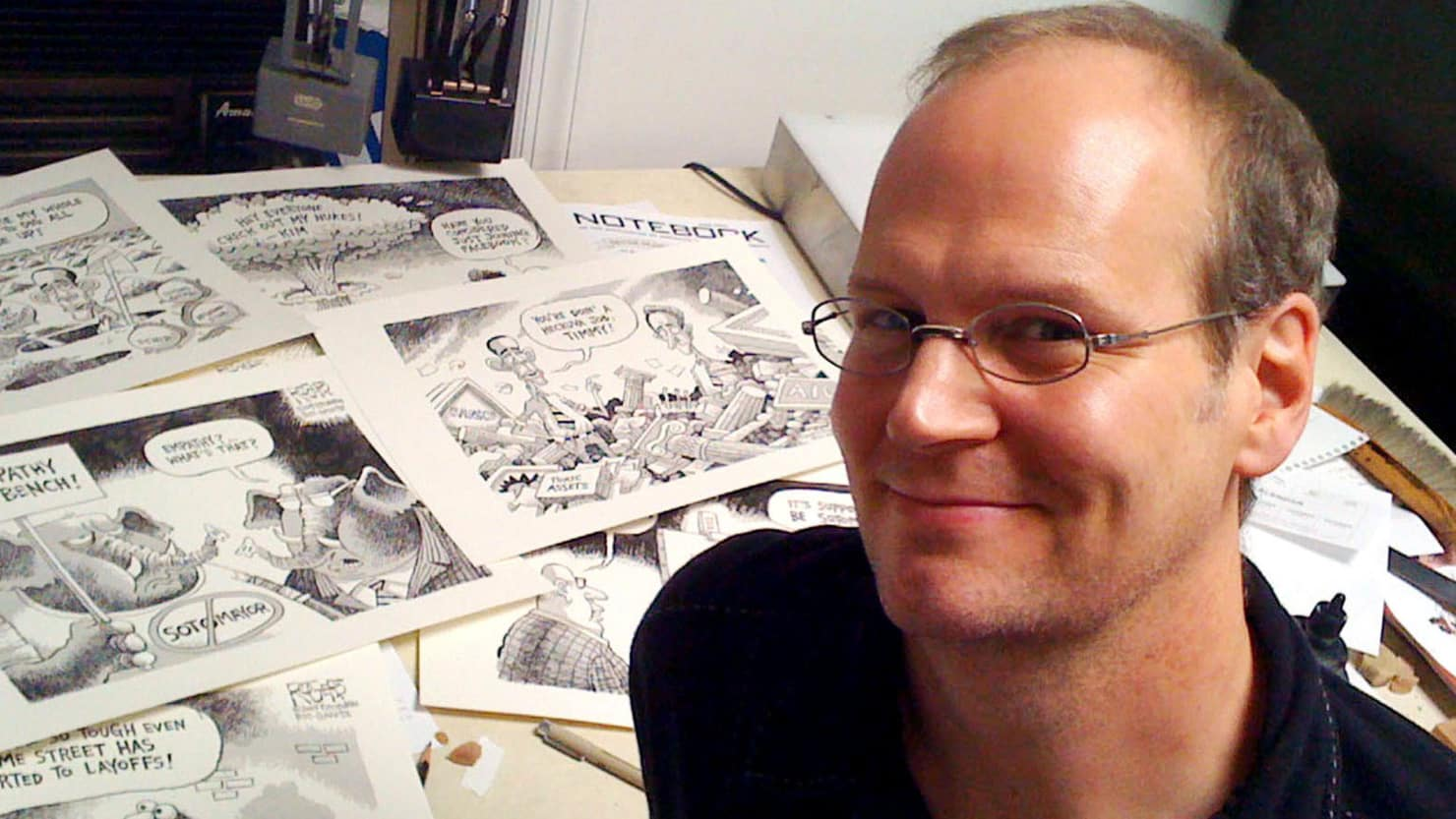 On June fourteenth, Burris fired Rob Rogers, the Post-Gazette's Pulitzer Prize nominated cartoonist.