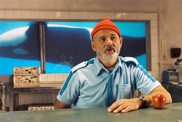 """""""The Life Aquatic with Steve Zissou"""" (2004). An artificial world offers space for a puffed-up character."""