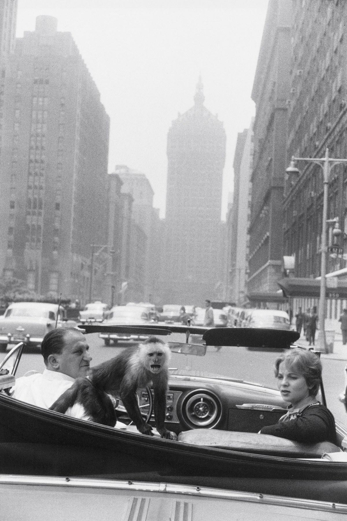Photo by Garry Winogrand, New York, c. 1962.