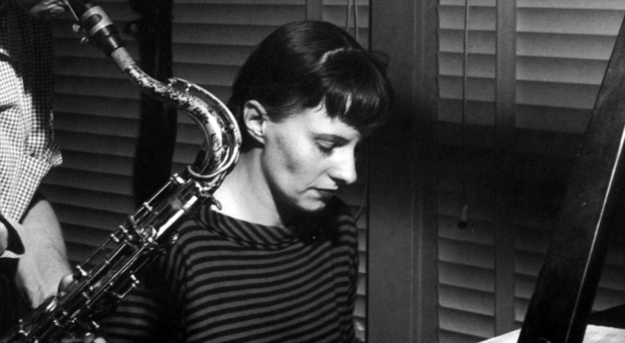 Jutta Hipp in 1958. Blue Note records employees had to find her decades later to deliver royalties.