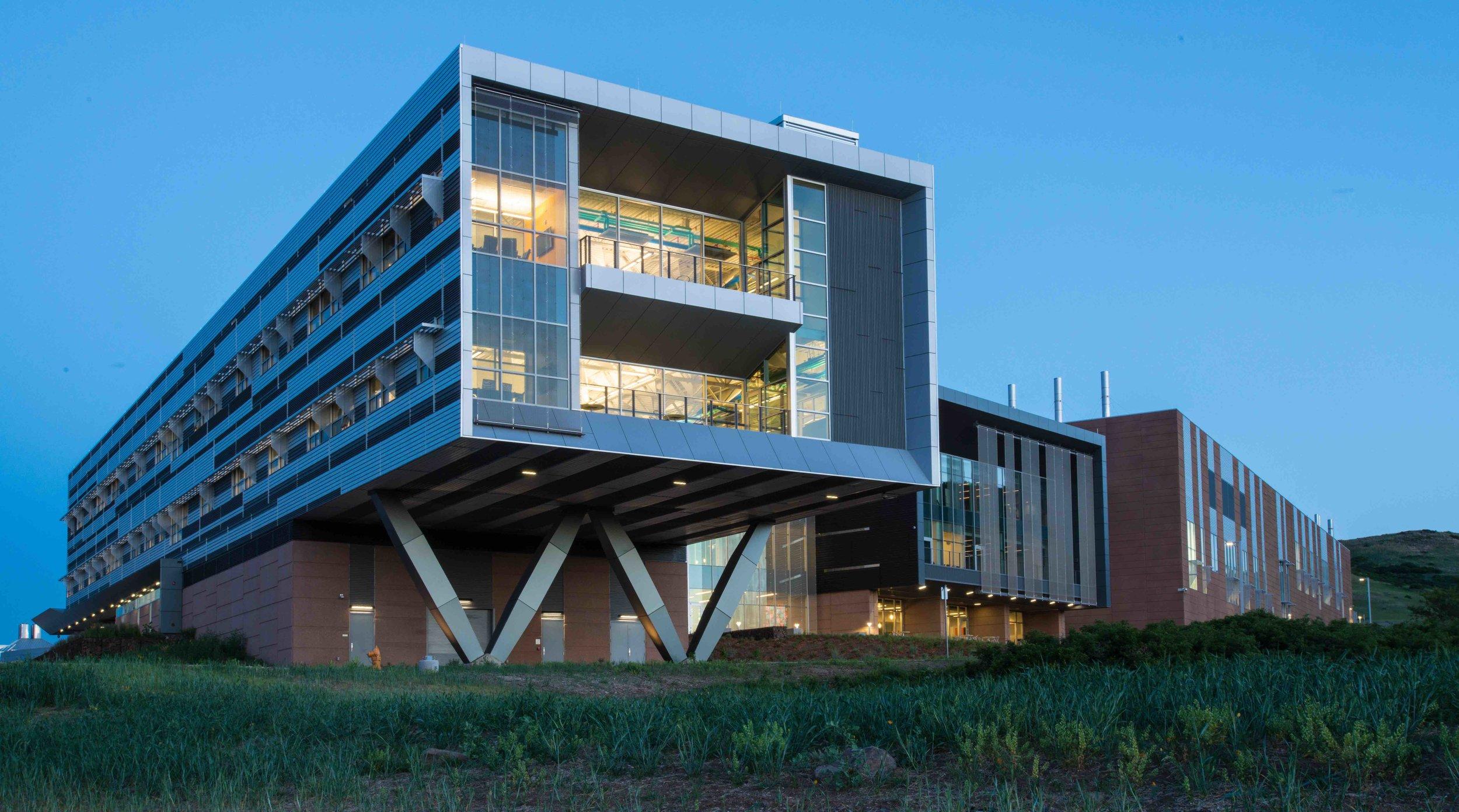 NREL Net Zero Platinum Laboratory, Golden Colorado