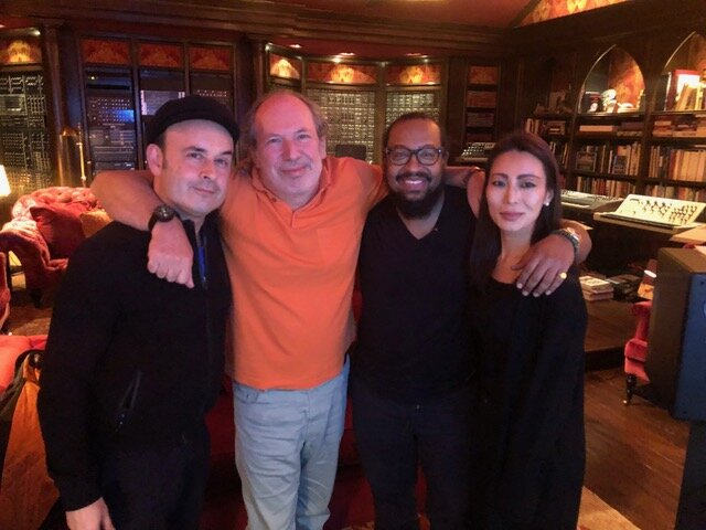 Aleksey Igudesman, Hans Zimmer, Ommas Keith and Julia Rhee