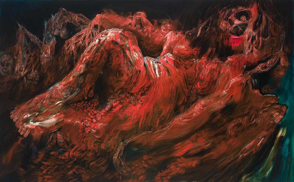 The Reclining Angel of Death, 2008