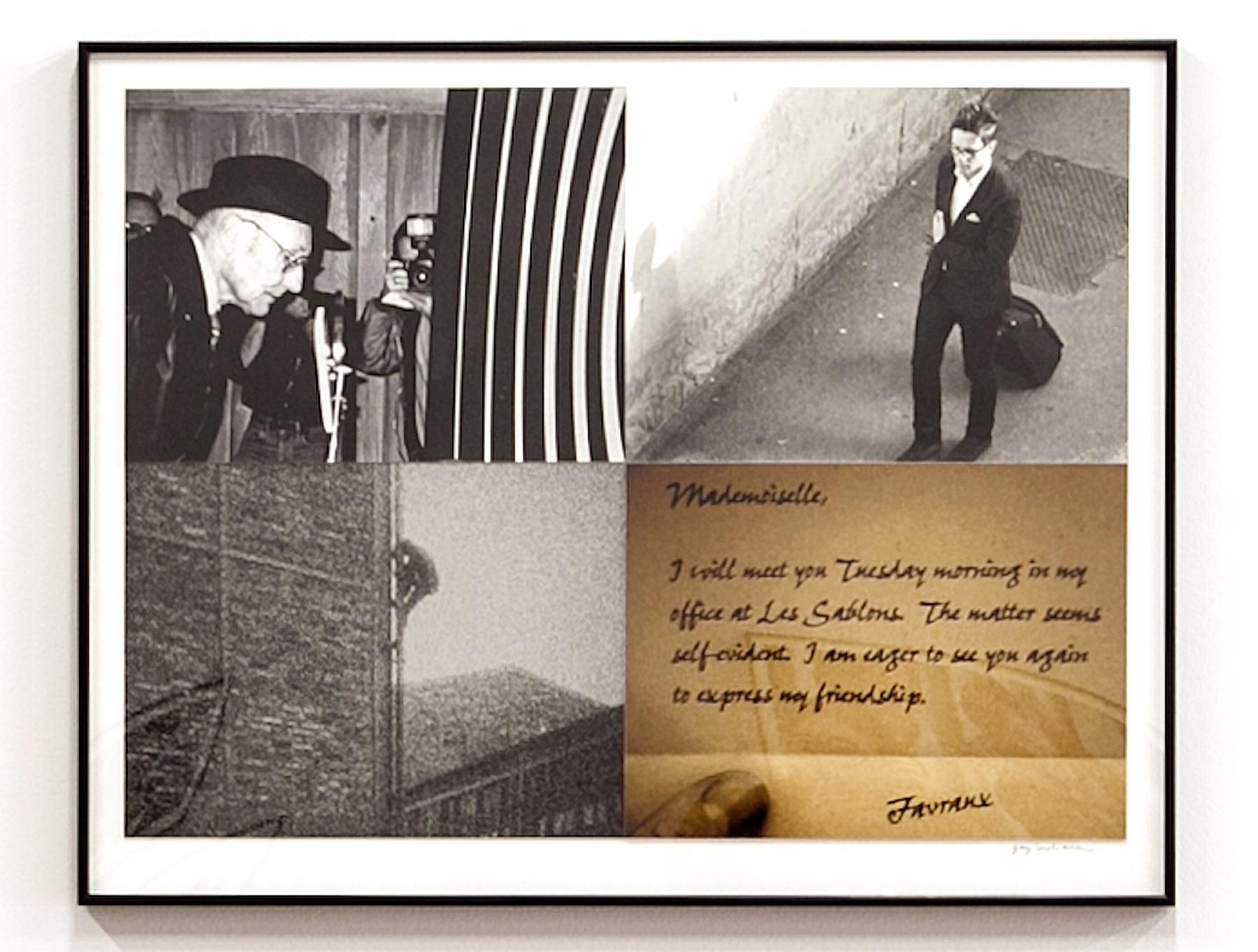 Untitled (William Burroughs), 2013 (top)