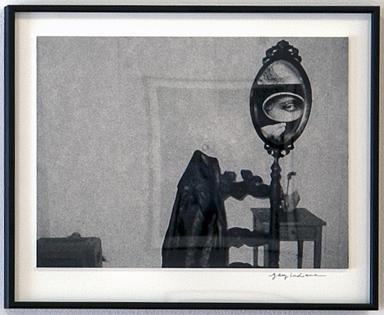 Untitled (Hotel room mirror), 2012 (top)