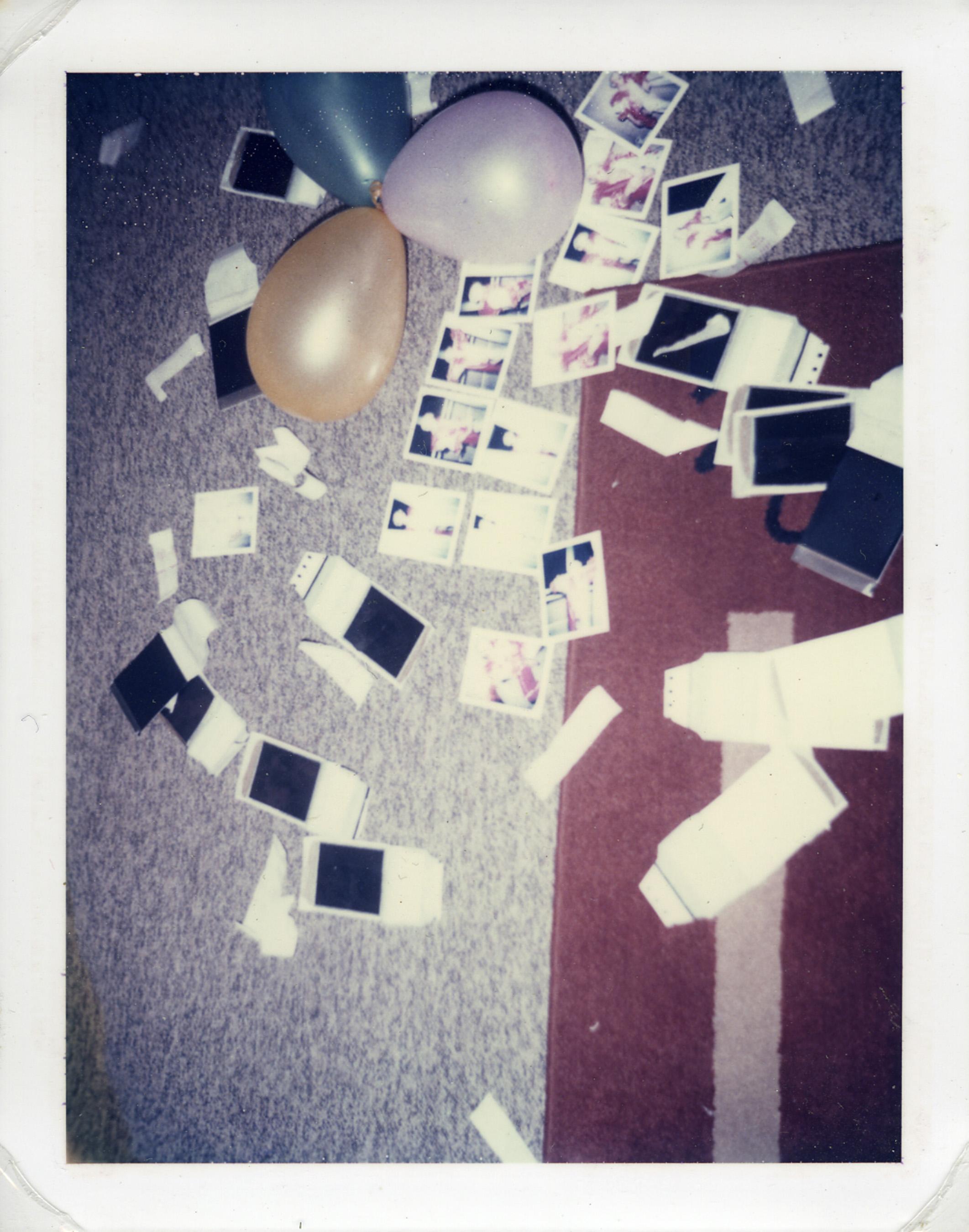 Balloons & Polaroids, 2003