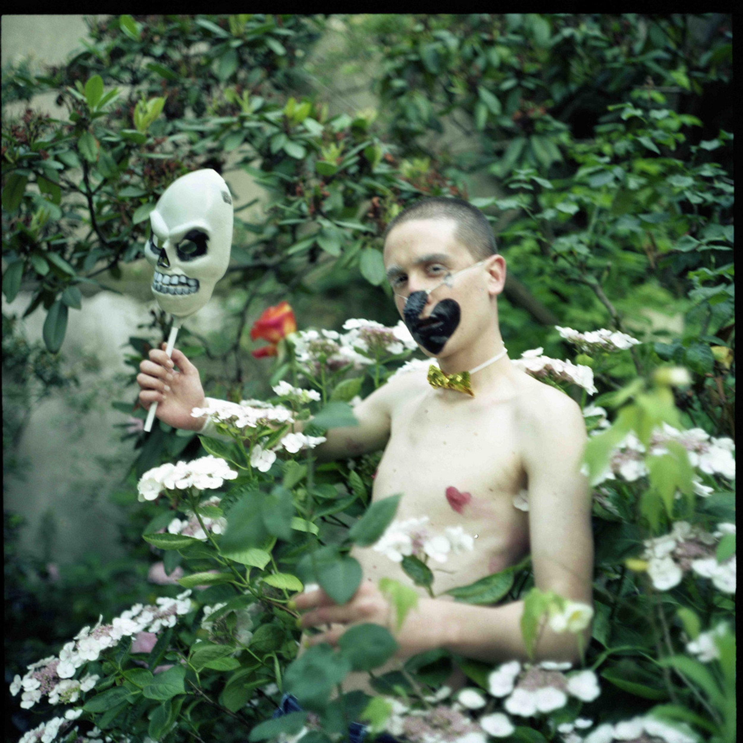 Thomas as spring vampire, 2003