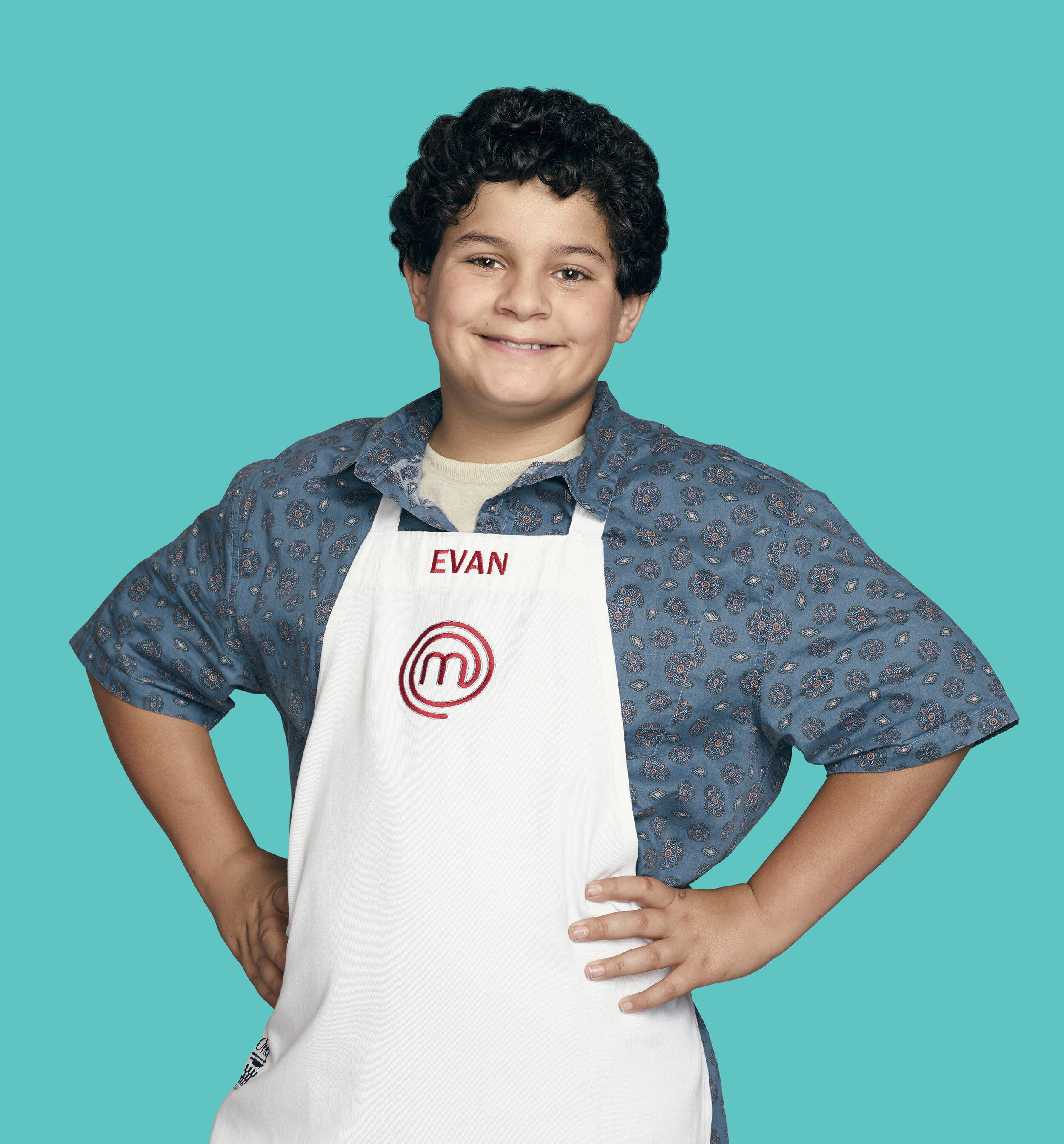 "Evan Estrada, who made the top seven of Season 6 of the Fox TV show ""MasterChef Junior,"" is one of four all-stars set to be part of the inaugural MasterChef Junior Live! tour, which begins on Oct. 3 at Rialto Square Theatre in Joliet. (Michael Becker/Fox) (HANDOUT)"
