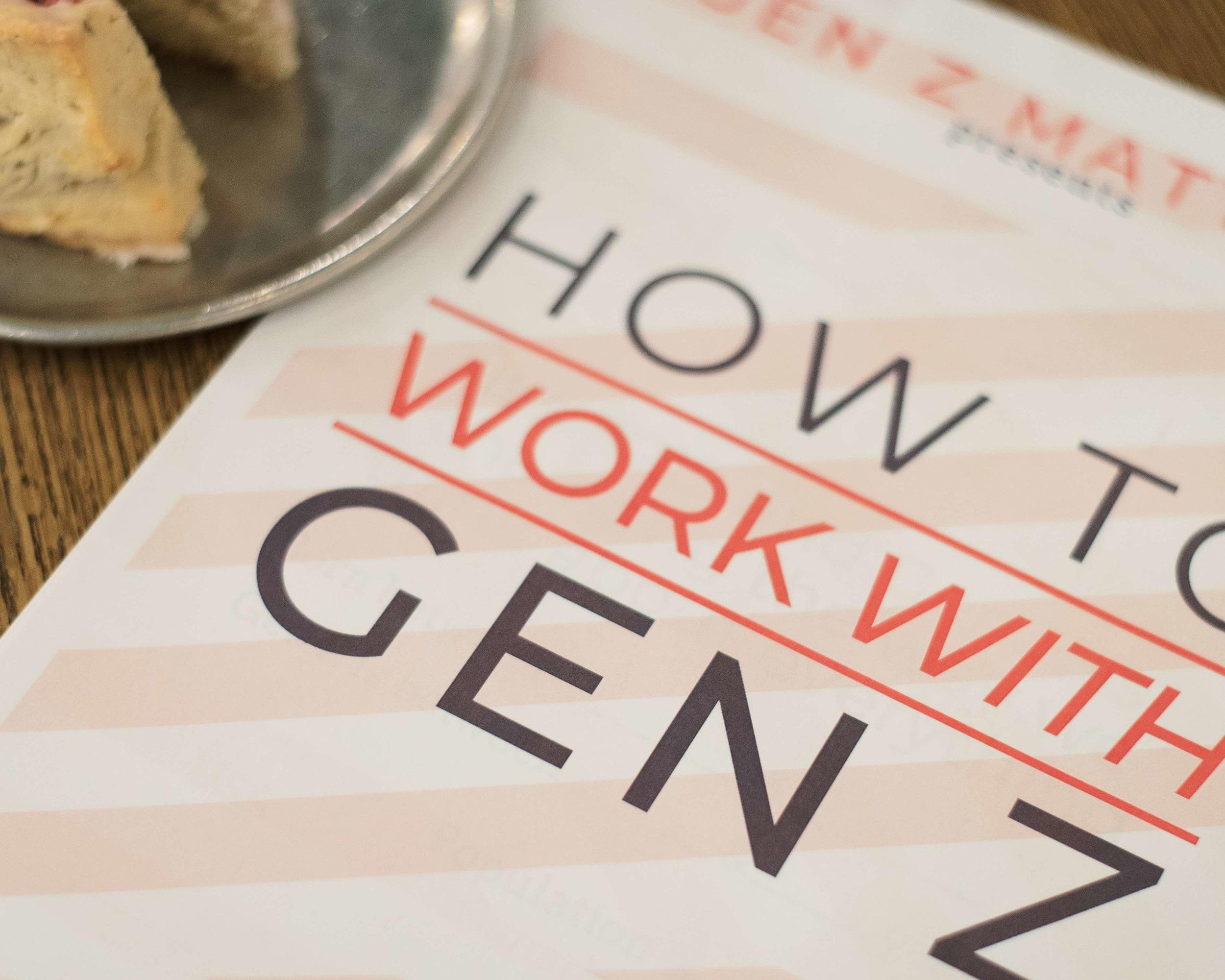 Gen Z Matters Workshop