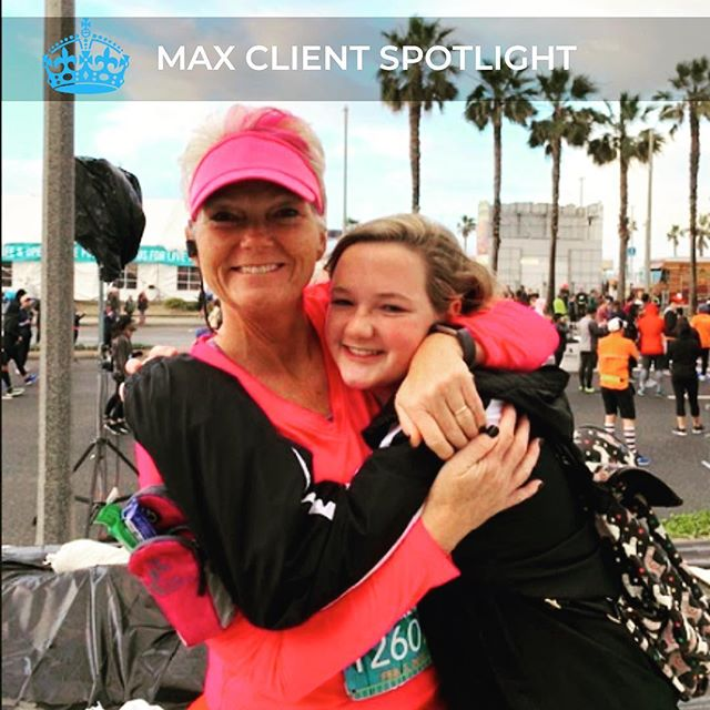 """✨MAX CLIENT SPOTLIGHT OF THE WEEK! ✨  The spotlight is on Andrea this week! Andrea shared with us her wellness journey and how she transformed from self-proclaimed """"couch potato"""" to a SPARTAN race competitor. Andrea's dedication, consistency, and positivity are inspiring. We are so happy to be celebrating one year of Andrea joining the Max Fitness Family and making healthy long-lasting lifestyle changes!  CLICK BELOW to hear more from Andrea! ⬇️ https://mailchi.mp/f02bc00562f2/this-week-the-spotlight-is-on-andrea-756343 : : : #ExerciseTime #Trainiac #FitnessJunkie #FitFam #InstaFitness #FitFam #Fitness #Fitspo #Fitporation #FitForLife #FitLifestyle #FitJourney #FitnessForLife #FitGoals #FitInspiration #WorkoutTime #HomeWorkout #WorkoutAtHome #NoShortcuts #HomeFitness #FitTips #FitFun #HandleIt #ExerciseTime #ExerciseForLife #FitnessPartners #FitnessGoal #FitnessGuru  #FitnessBody #FitnessFirst"""