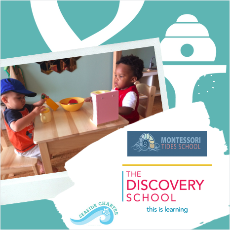 Our commitment to education - In 2014 Bay & Bee was developed by working with educators from Montessori Tides School.  Over the years we have developed connections and worked with Montessori Tides School, Seaside Charter School and The Discovery School to continuously boost our program and stay true to Montessori and Waldorf values.