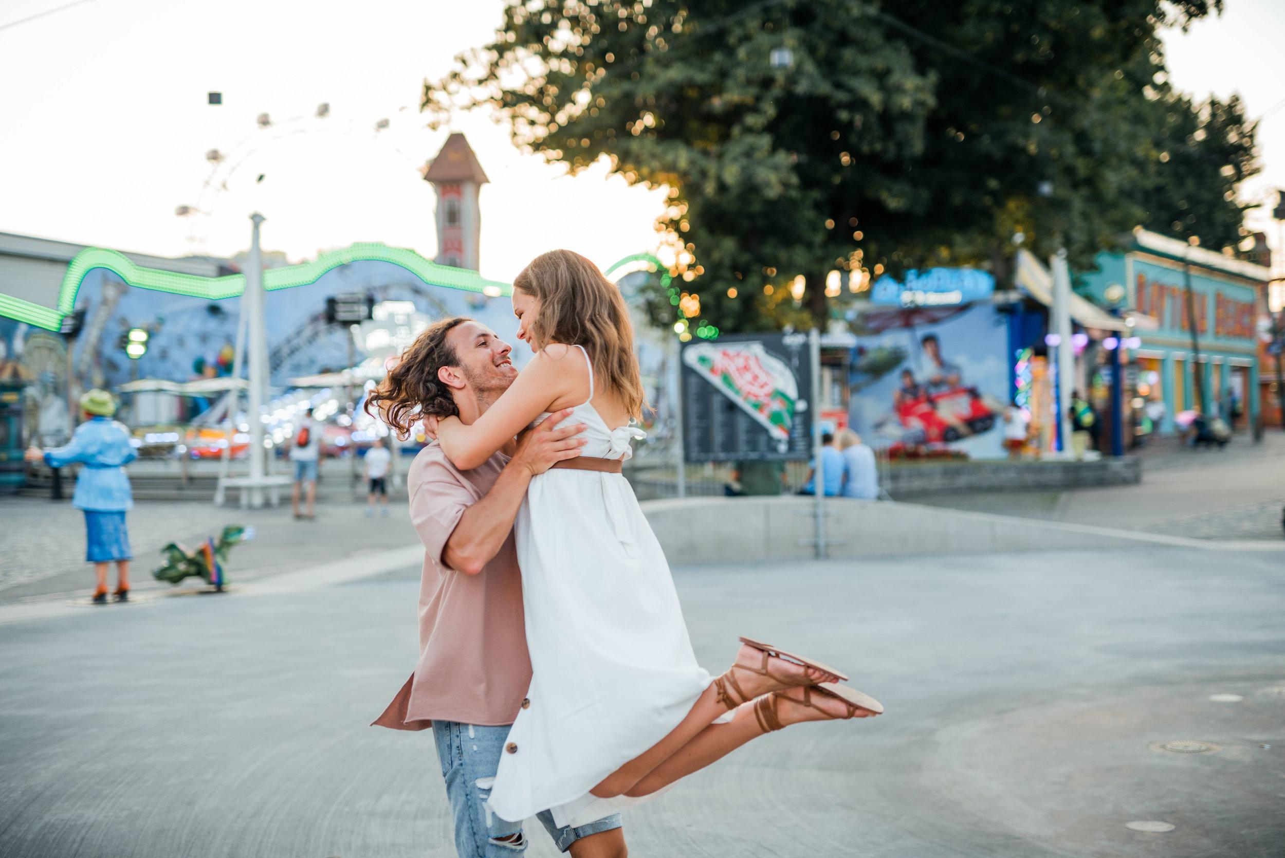 Verlobungsshooting im Prater - Engagement