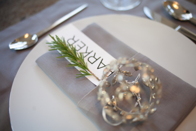 An ornament makes a great party favor & decor
