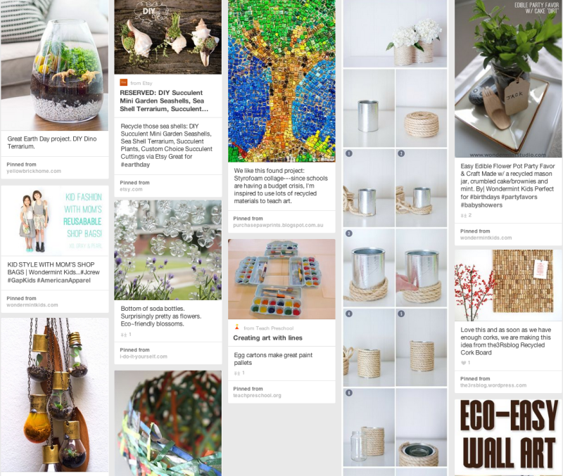 A peek at one of our Pinterest Boards