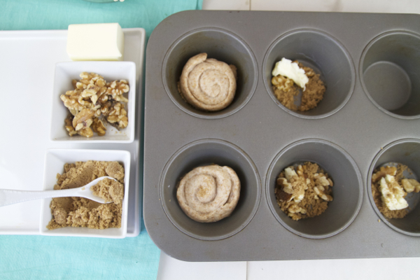 An easy way to make yummy sticky buns!