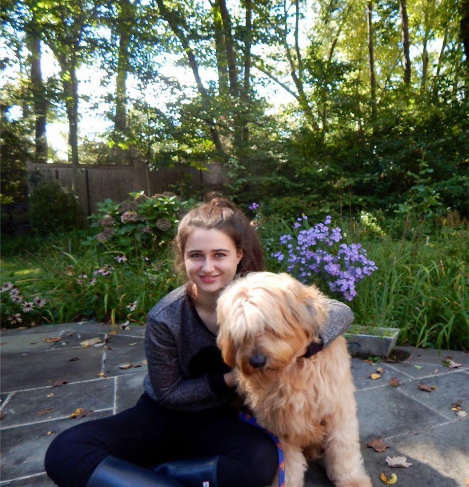 Annie B. with Teddy
