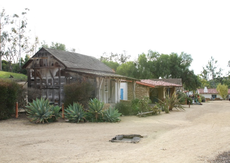 The original wood & brick buildings at the Ranch