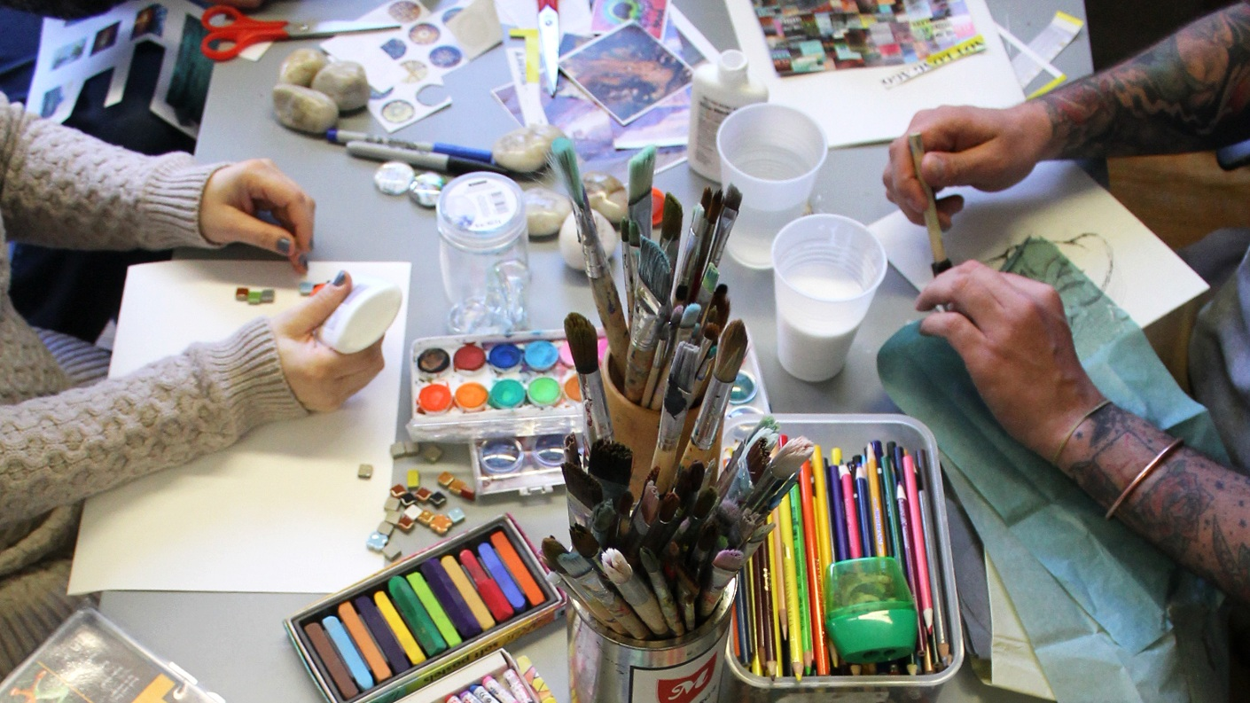 $2,500 - Funds 1 Summer Art Therapy Group for At-Risk Youth
