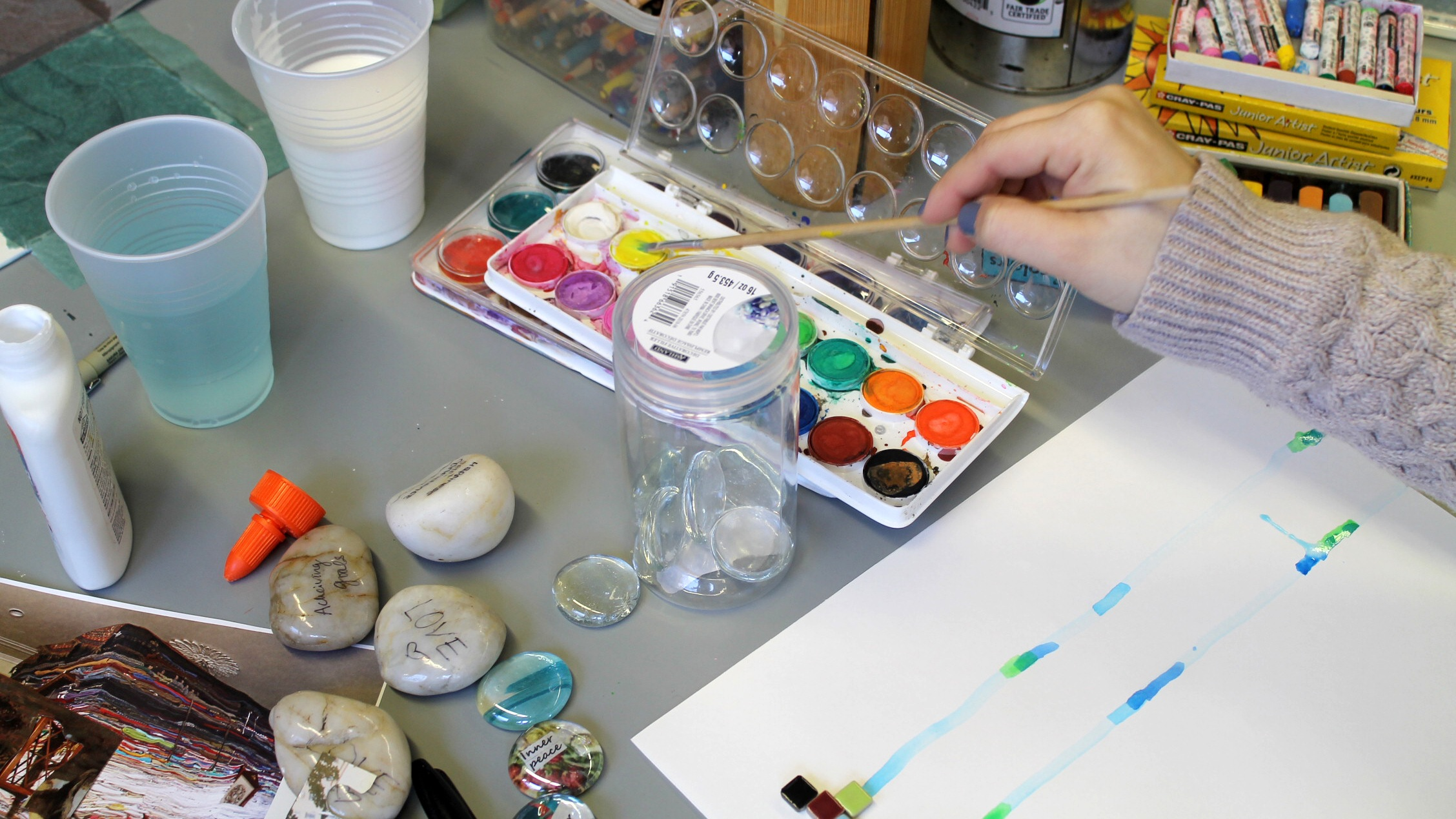 $10,000 - Funds 1 Art Therapy Group for 1 Year