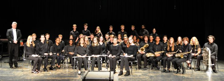 Concert Band - Excellent RatingNCBDA 2019