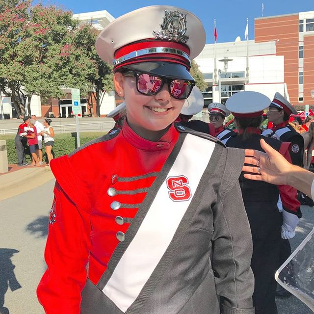 We love seeing our Sanderson Band Alumni rocking their new uniforms!