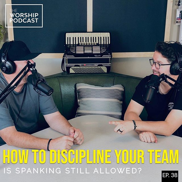Today we talk through that terrible, horrible, uncomfortable word; Discipline. How do you effectively correct or discipline your team when/if it's needed? Should it really come down to that? Oh boy.  @njgalbraith and @herebedustin dig deep into the realities of this topic within our worship teams and how to make sure we are the best we can be! #worship #podcast