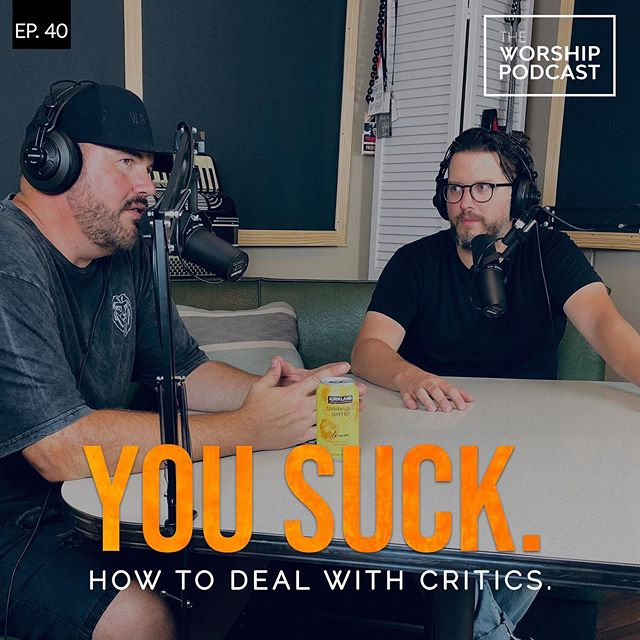 Taking criticism can be tough. It can also come from many different people in your life, family, leaders, peers and even your congregations.  How you deal with the critics is a topic we all have to deal with at some point in our lives, so James and Dustin go in depth, head first, with how to handle these situations. Check it out today! #podcast #worship