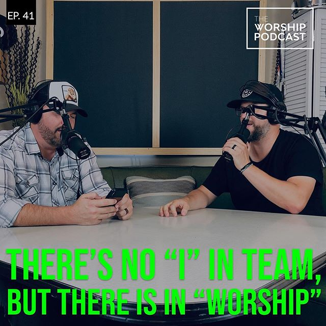 """Ohhhh boy. We went there. Ever wonder about the arguments that happen over """"I, we, they, Him"""" in worship songs? Ohhhh we do.  We put the debate to the test as James and Dustin talk through what the appropriate verbiage to use in worship really is. Check it out! #podcasts"""