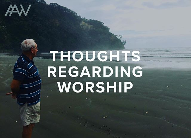 Our guest writer today is Rodger Galbraith, a seasoned pastor from New Zealand. His words will provoke the way you experience worship. Is it for show or a true experience of heaven? Let us know what you think! Link in profile! #blog #worship