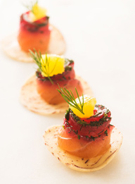 Passed Hors d'Oeuvres -