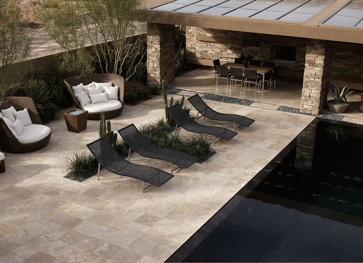 OUTDOOR POOLS AND PATIO