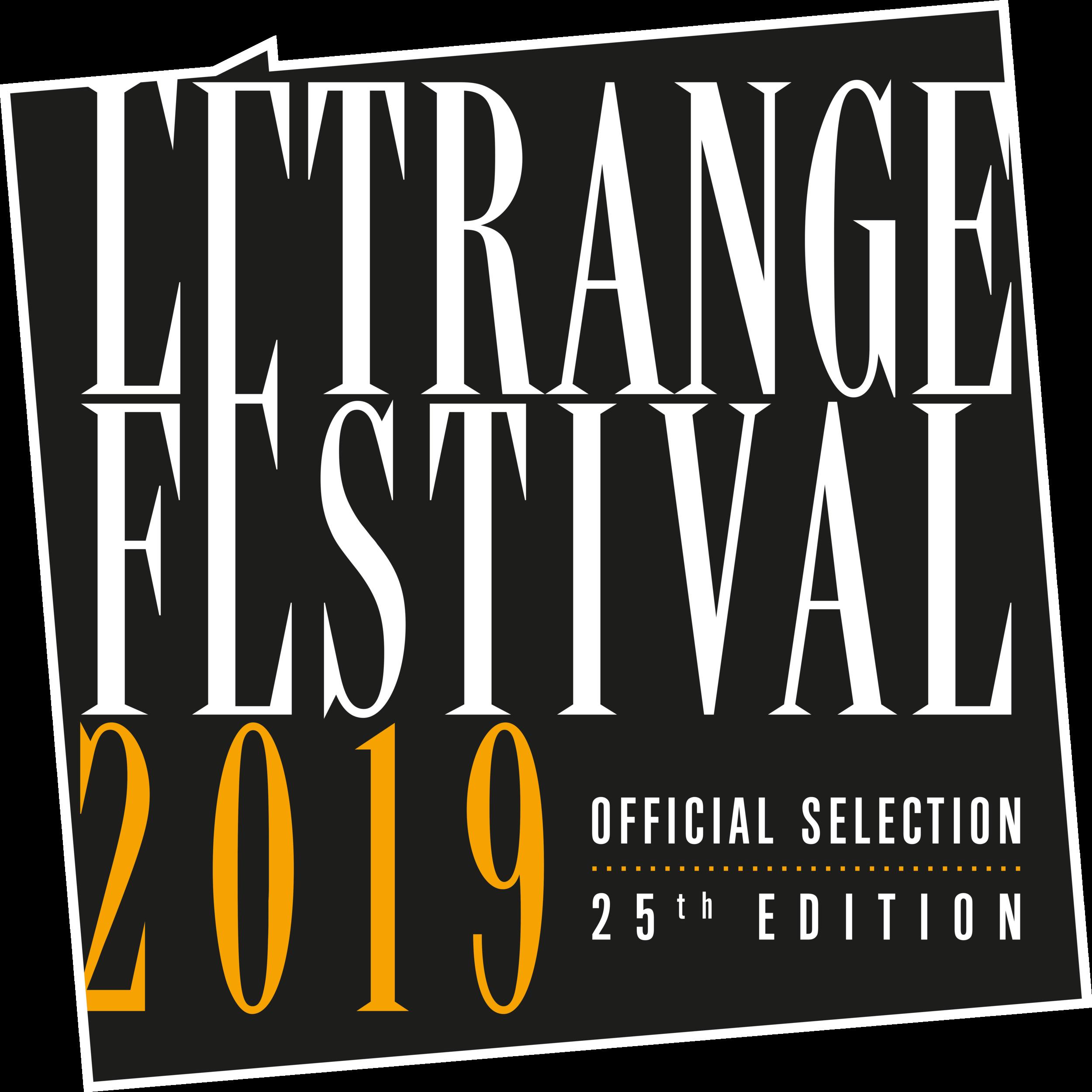 FRI 9/13 - L'Étrange Festival - Paris, FRANCE   8:00PM    TICKETS