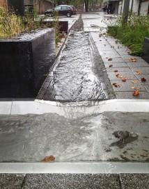 Rain drain Rotterdam