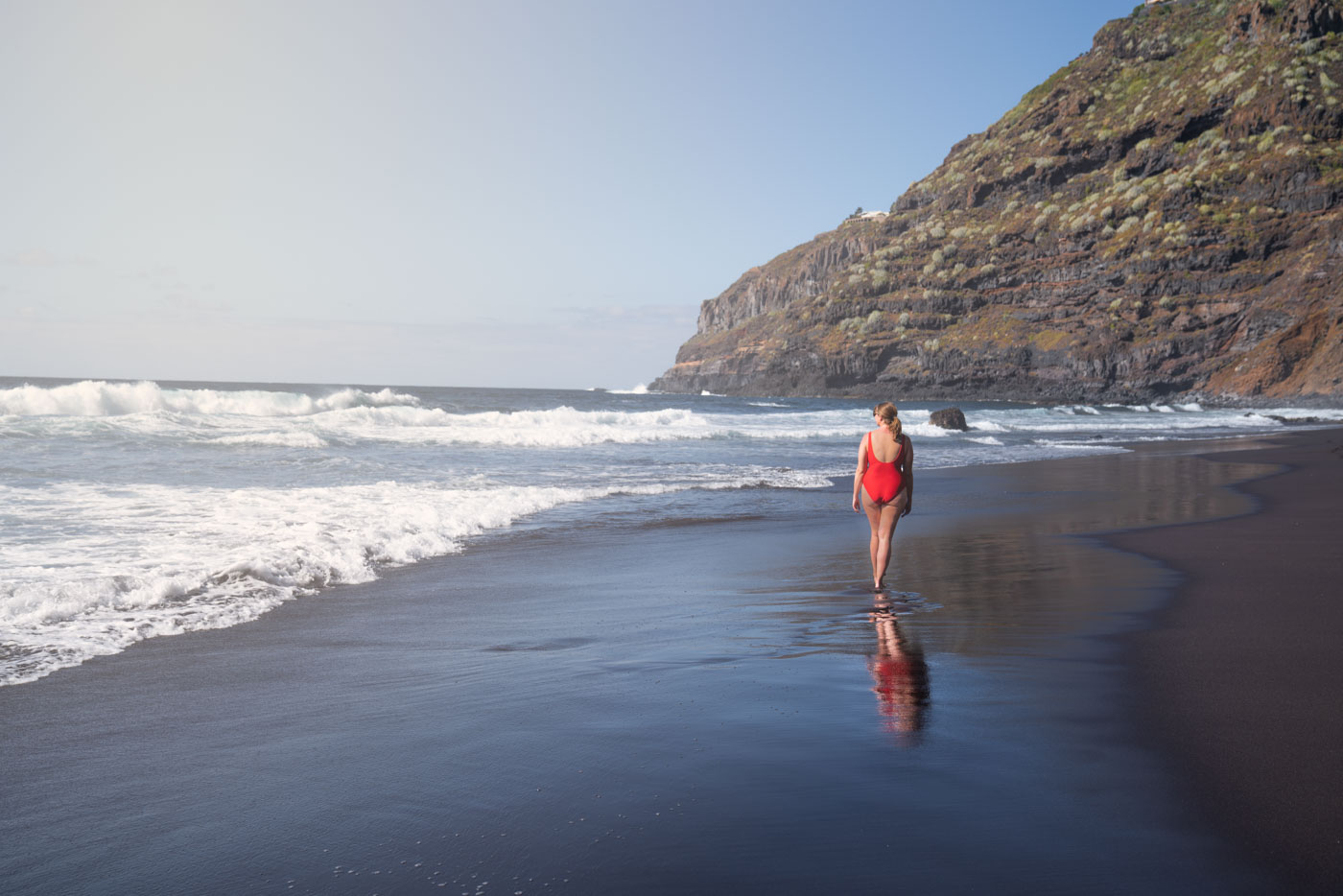 Black-sand Beaches - of Northern Tenerife