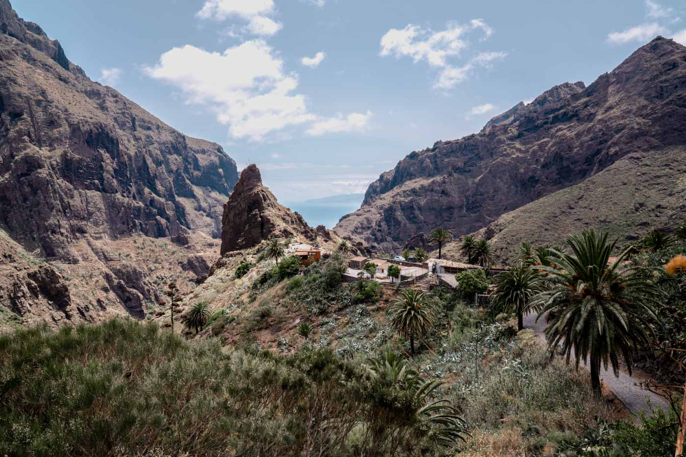Masca - Masca is a charming little village in the South of Tenerife nestled in a gorge.