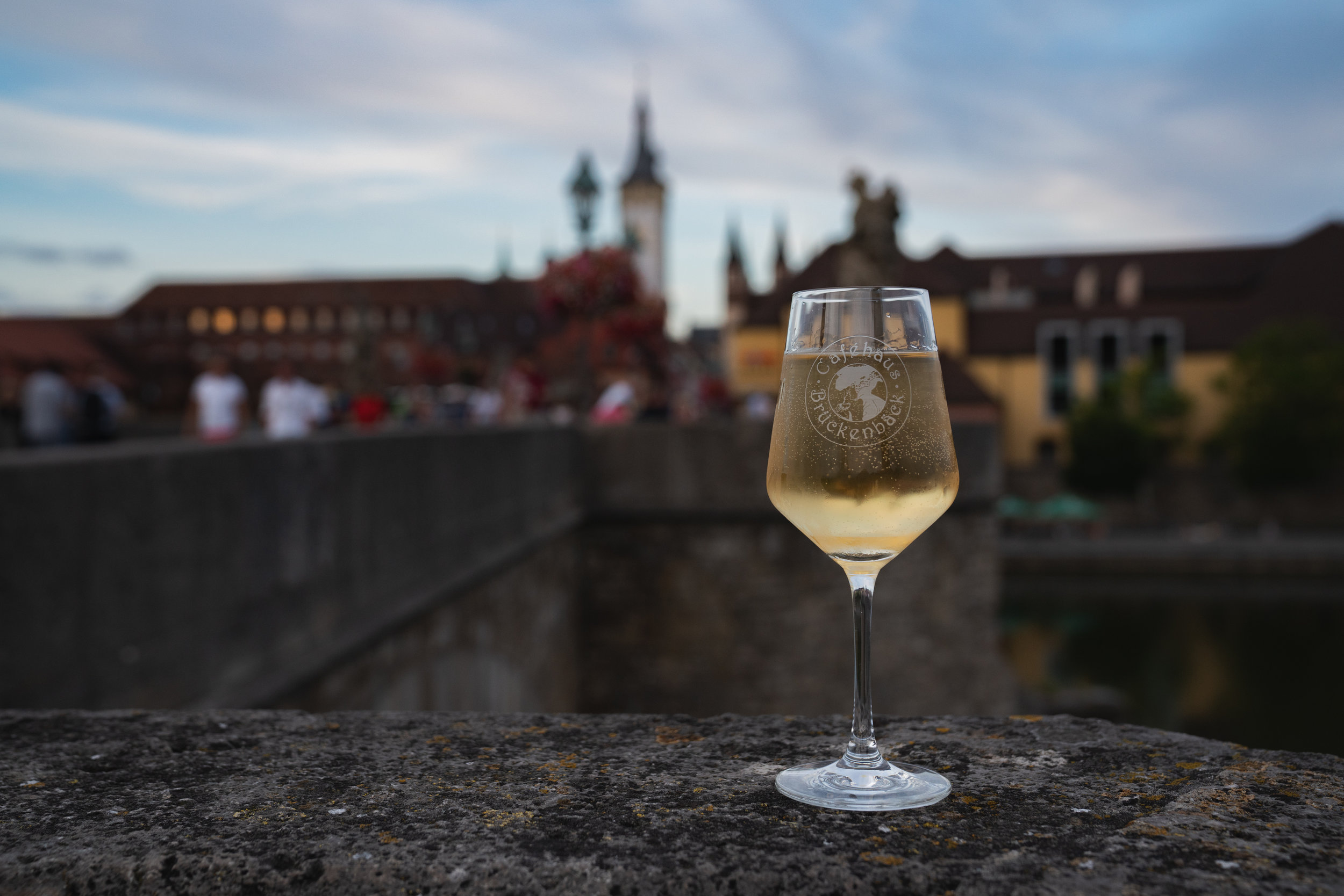 Old Main Bridge - Grab a glass of Franconian wine and hang out with the locals on the Old Main Bridge!