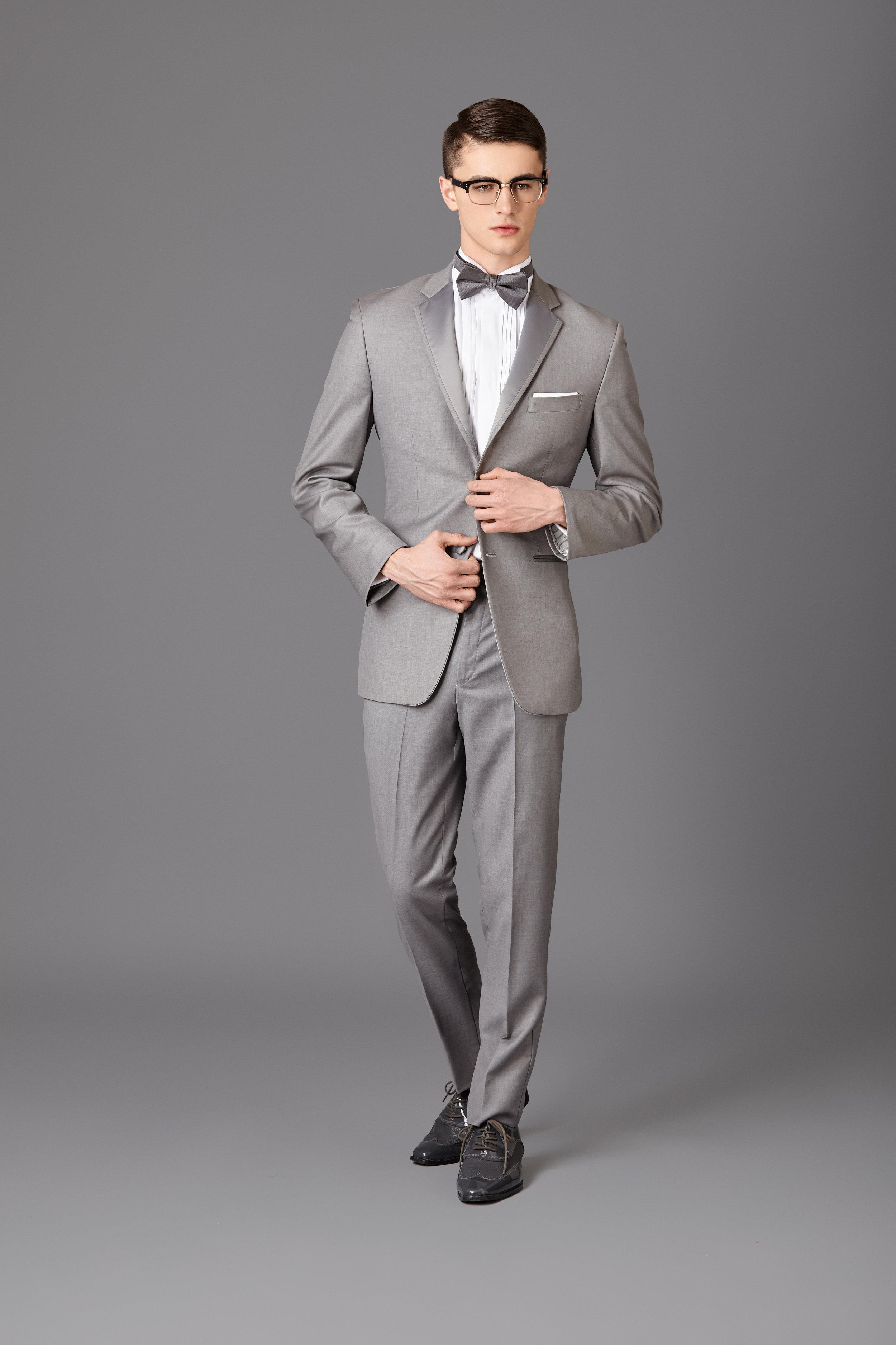 Silver Grey Tux