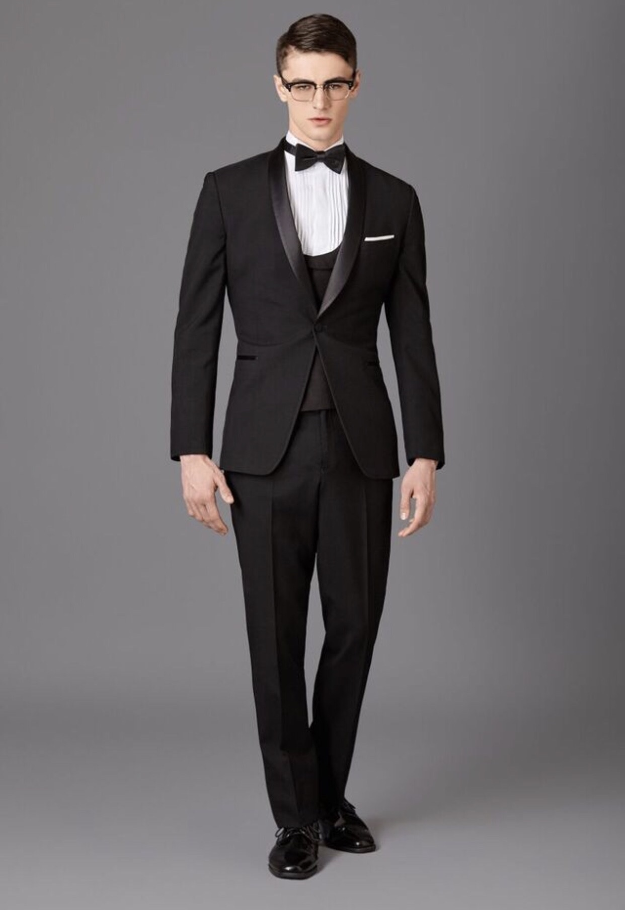 Black Shawl Tux
