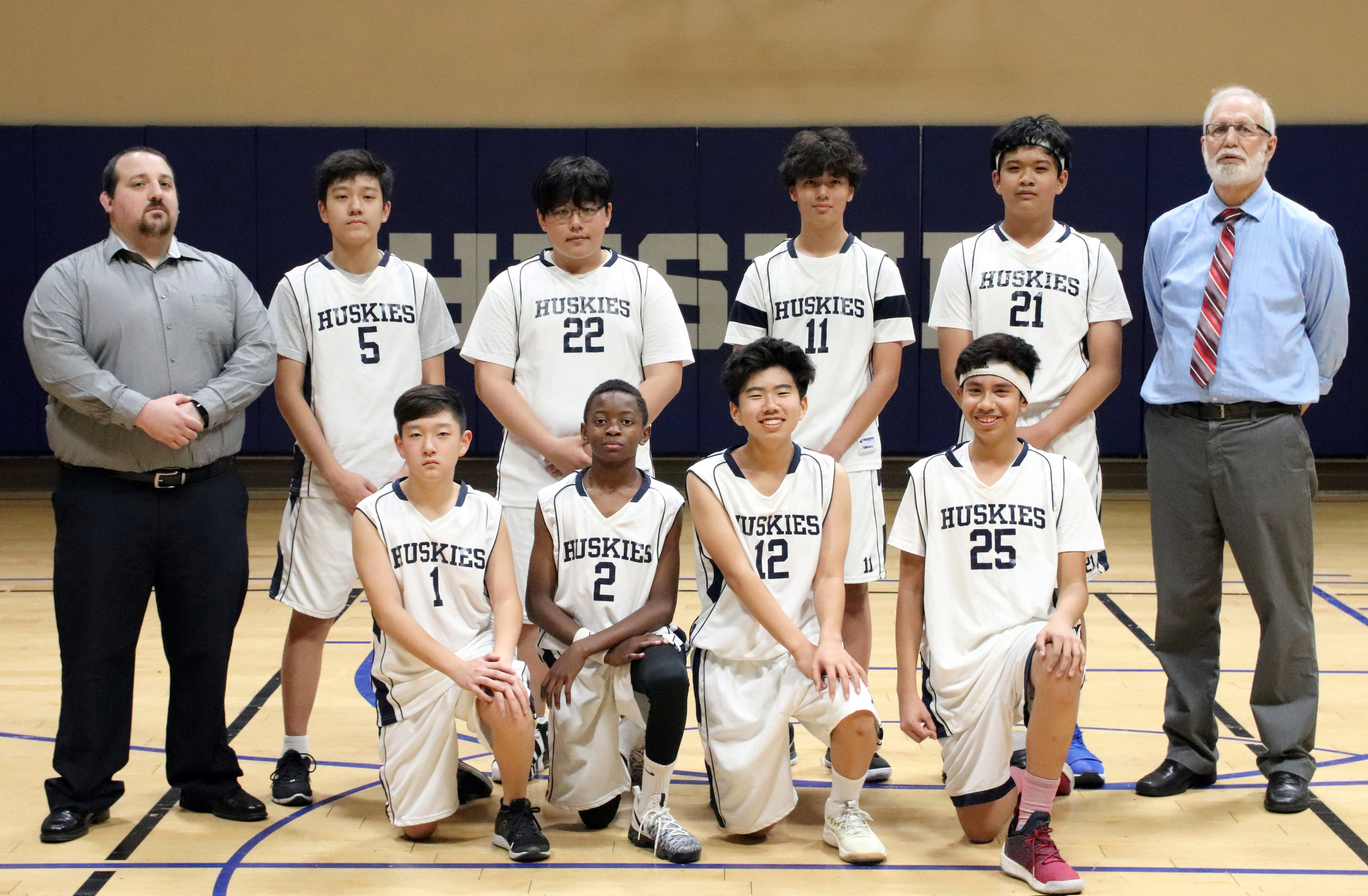 2018-19 Boys Middle School Team