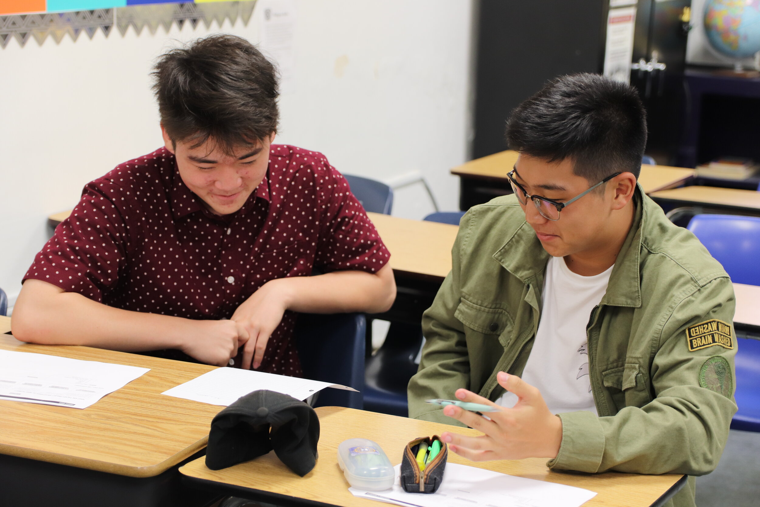 High School (9-12) - NCA's High School students are all 4-year college bound. As such, students take not only required a-g courses (UC required), but additional years in those subjects. NCA is renowned for the IB Diploma Program.