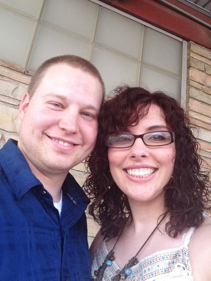 Chris and Mariah- first date night at Cattleman's Steakhouse in OKC