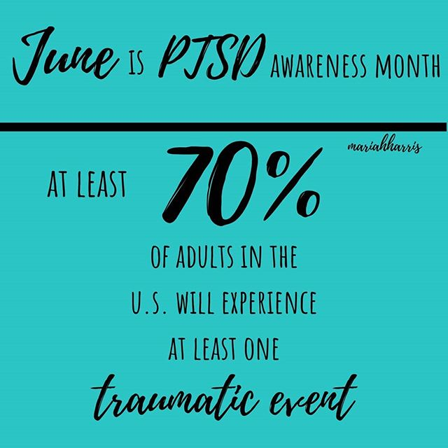 June is PTSD awareness month. Sadly most of us suffer from this WITHOUT even knowing. Learn the signs and seek help! . . . I suffer from PTSD. I know firsthand the struggle of having this. Having a bad incident happen when i was 16 and then having been an ICU nurse and dealing with death firsthand I still have nightmares from it. I hear the alarms from the ICU in my head and the breathing ventilators. These are just a couple things I have related to PTSD the list goes on! . . . Seek help and speak up! . . . . . #MariahHarris #ptsd #ptsdawareness #recovery #recovering #mentalhealthblog #mentalhealthisimportant #mentalhealthrecovery #mentalhealthadvocate #mentalillness #ptsdawarenessmonth #edrecovery #eatingdisorder #eatingdisorderawareness #onwardandupward #ThursdayThoughts #thursdaymotivation #overcome #life #trauma #struggle