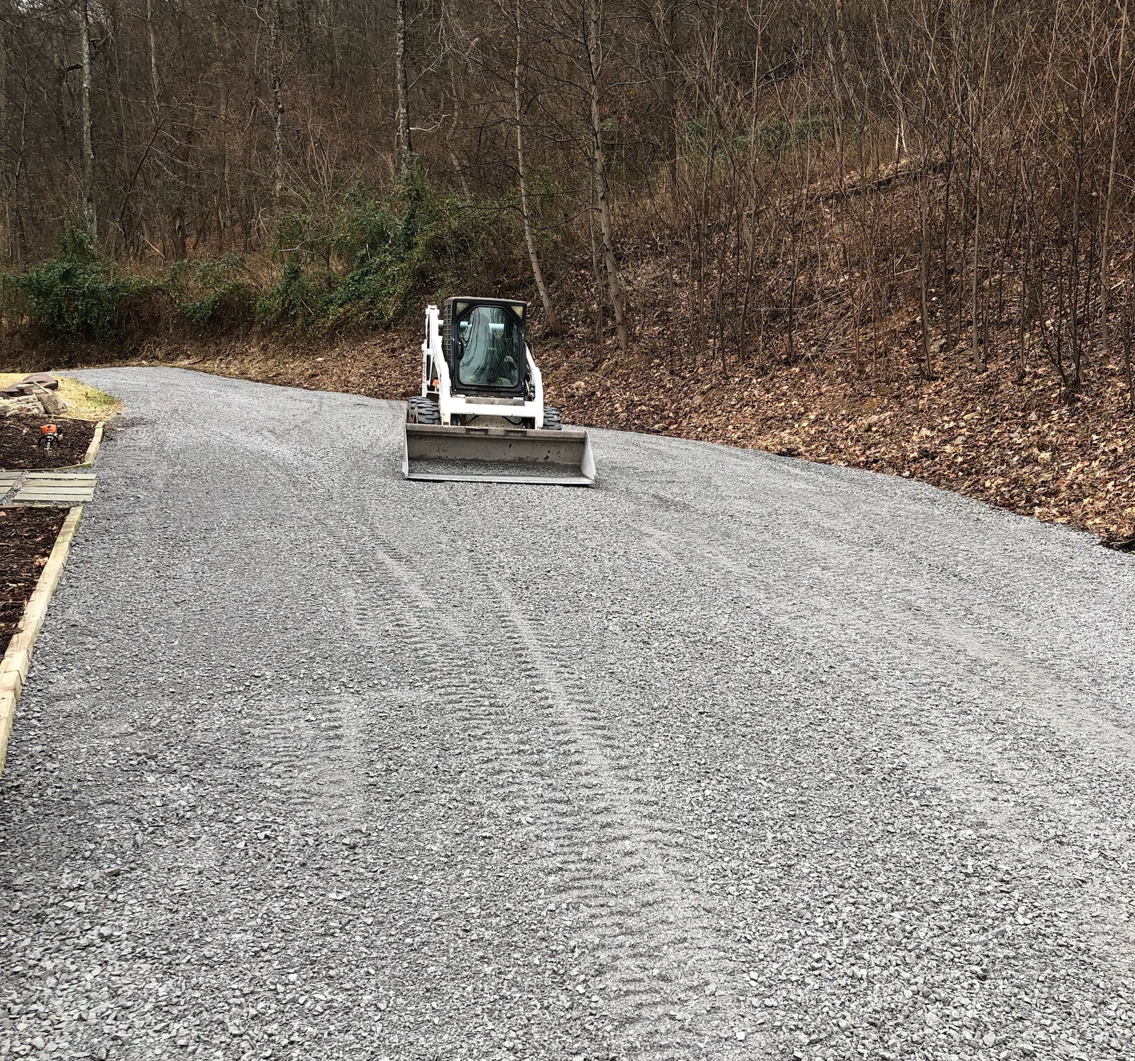 Skid Loader Services - -Driveway work-Excavation-Drainage-Brush clearing-Post hole digging