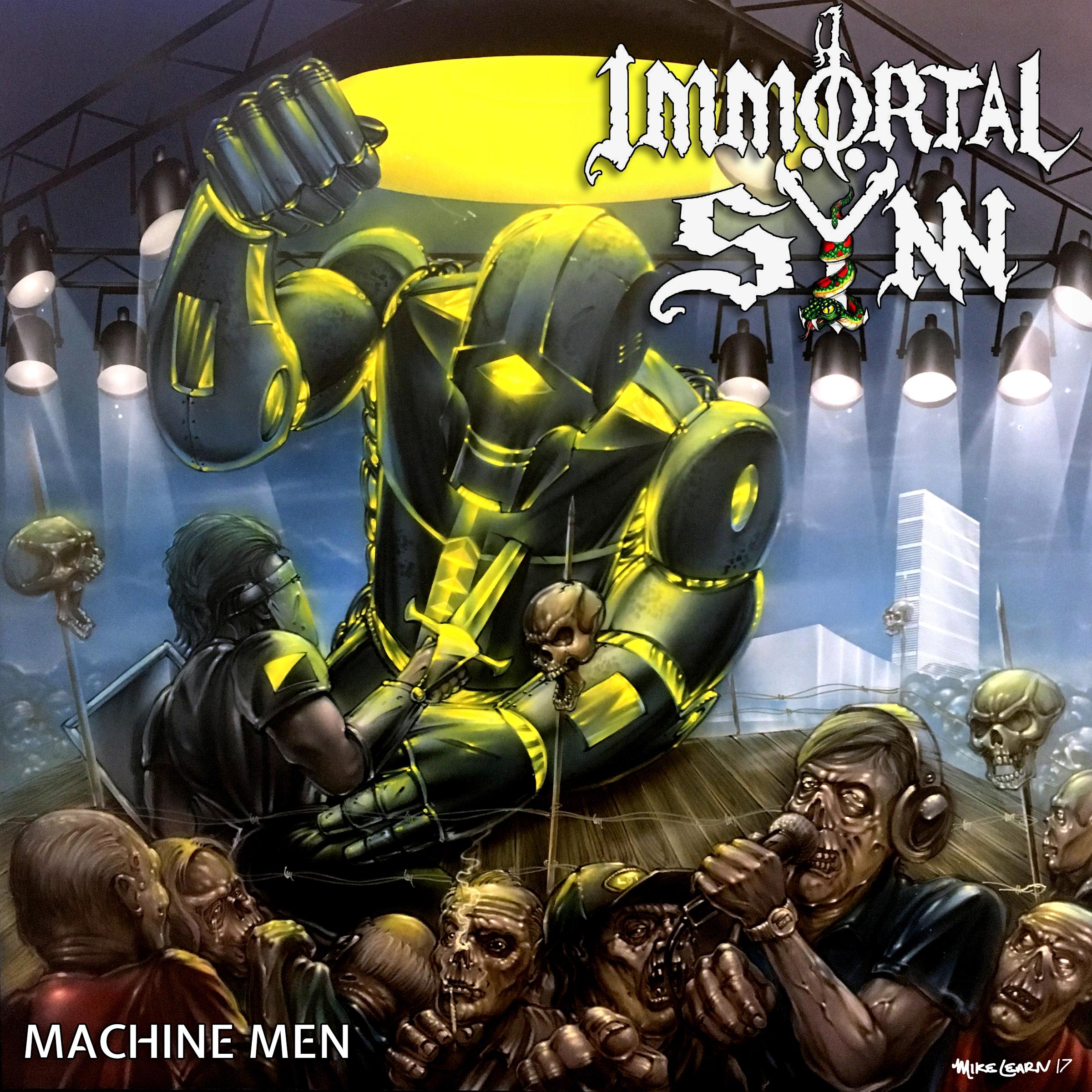 Machine Men (LP) - 2017