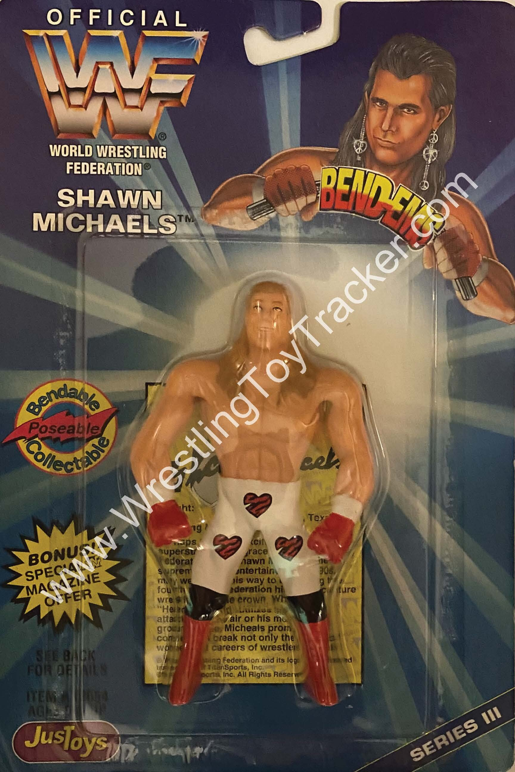 WWF Bend-Ems Series VI The Legion of Doom Animal Bendable Figure Justoys
