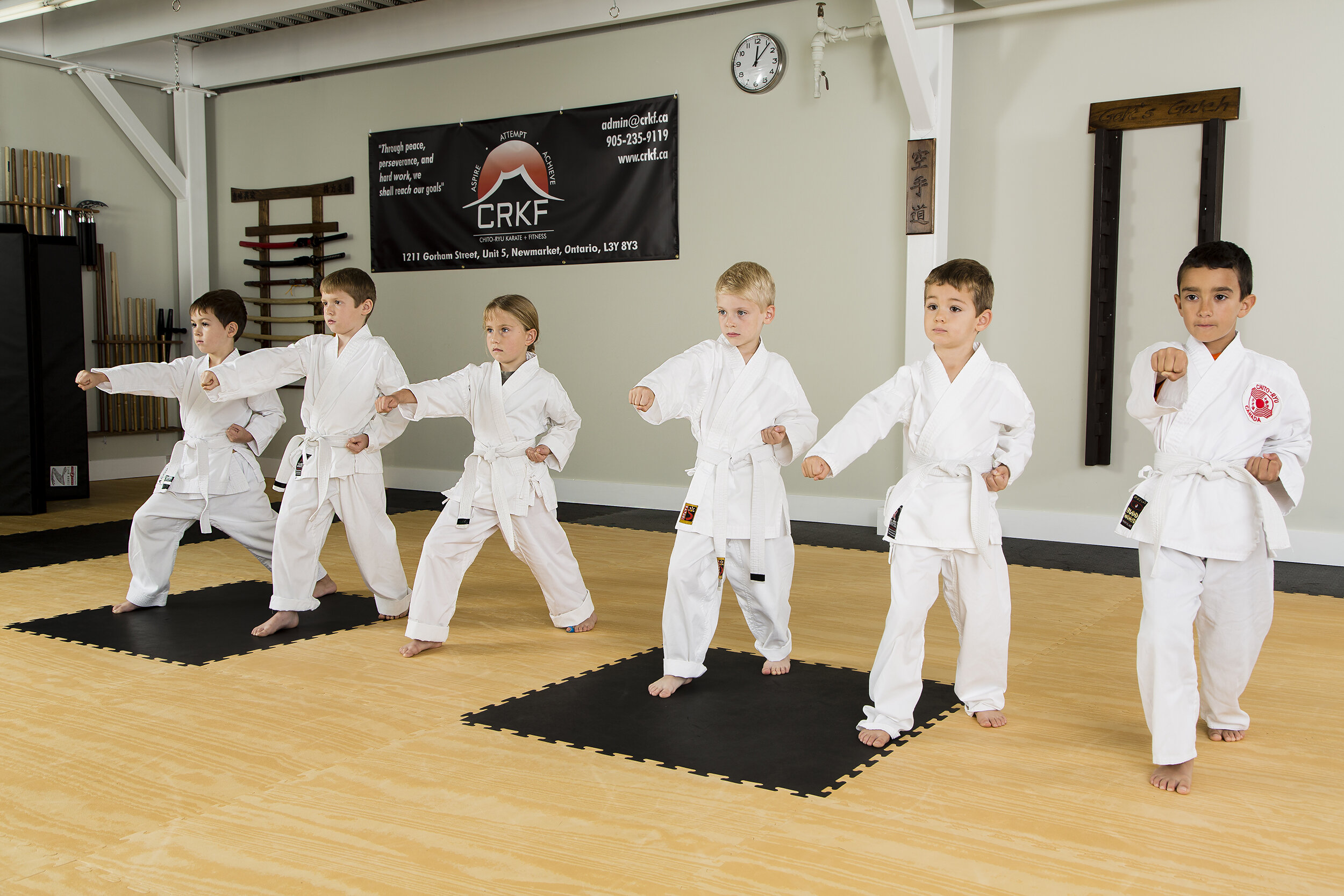 traditional karate - Disciplining The MInd