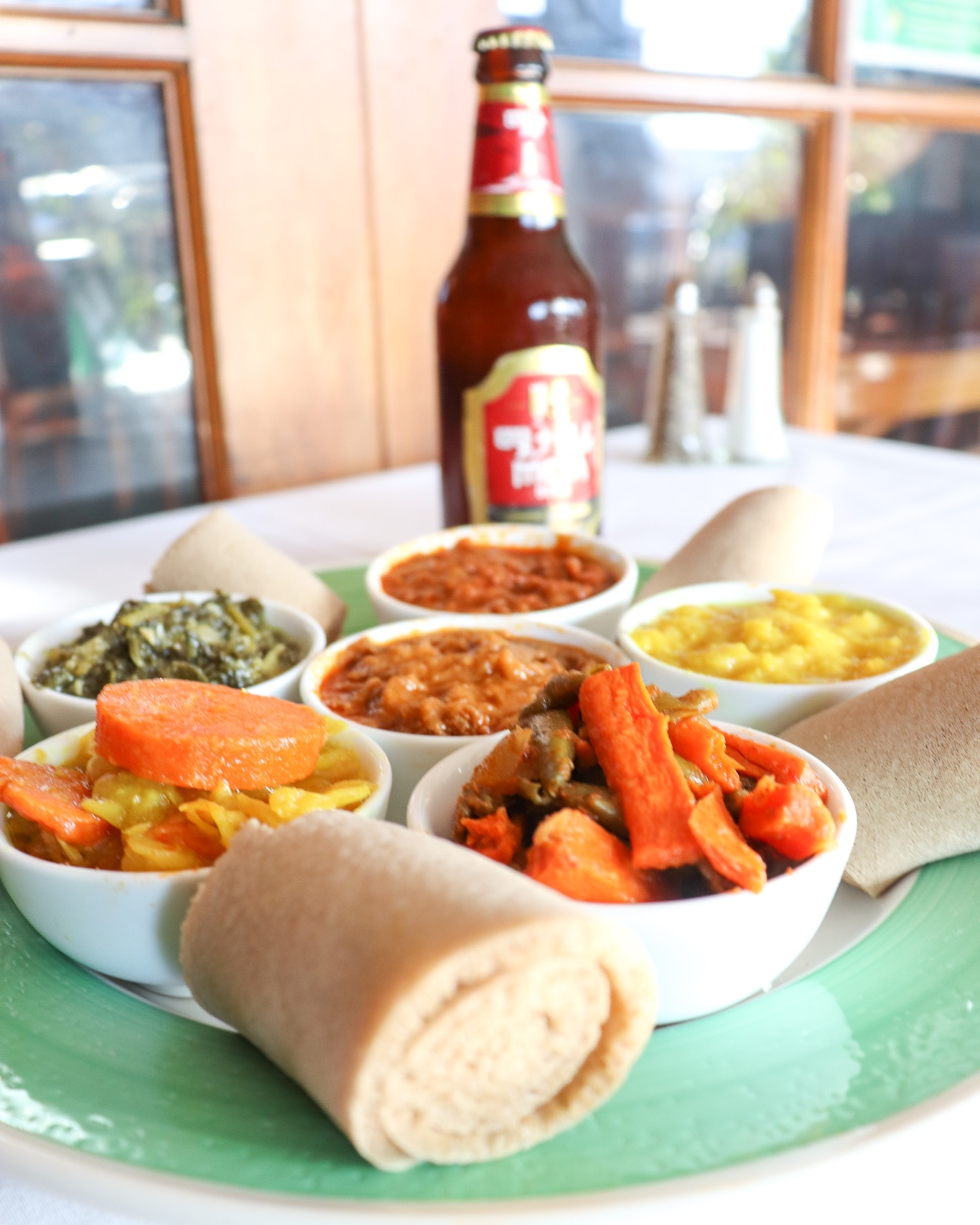 Vegetarians rejoice - Our veggie combo is made with fresh ingredients like carrots, peas, cabbage, lentils, and more!