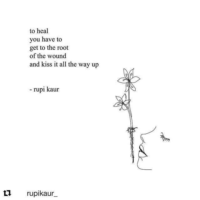 #Repost @rupikaur_  I posted this awhile back. Sometimes it makes sense to revisit what we already know. It's especially true of this poem 🌺💋 ・・・ 🌱🌱🌱 page 235 from #thesunandherflowers