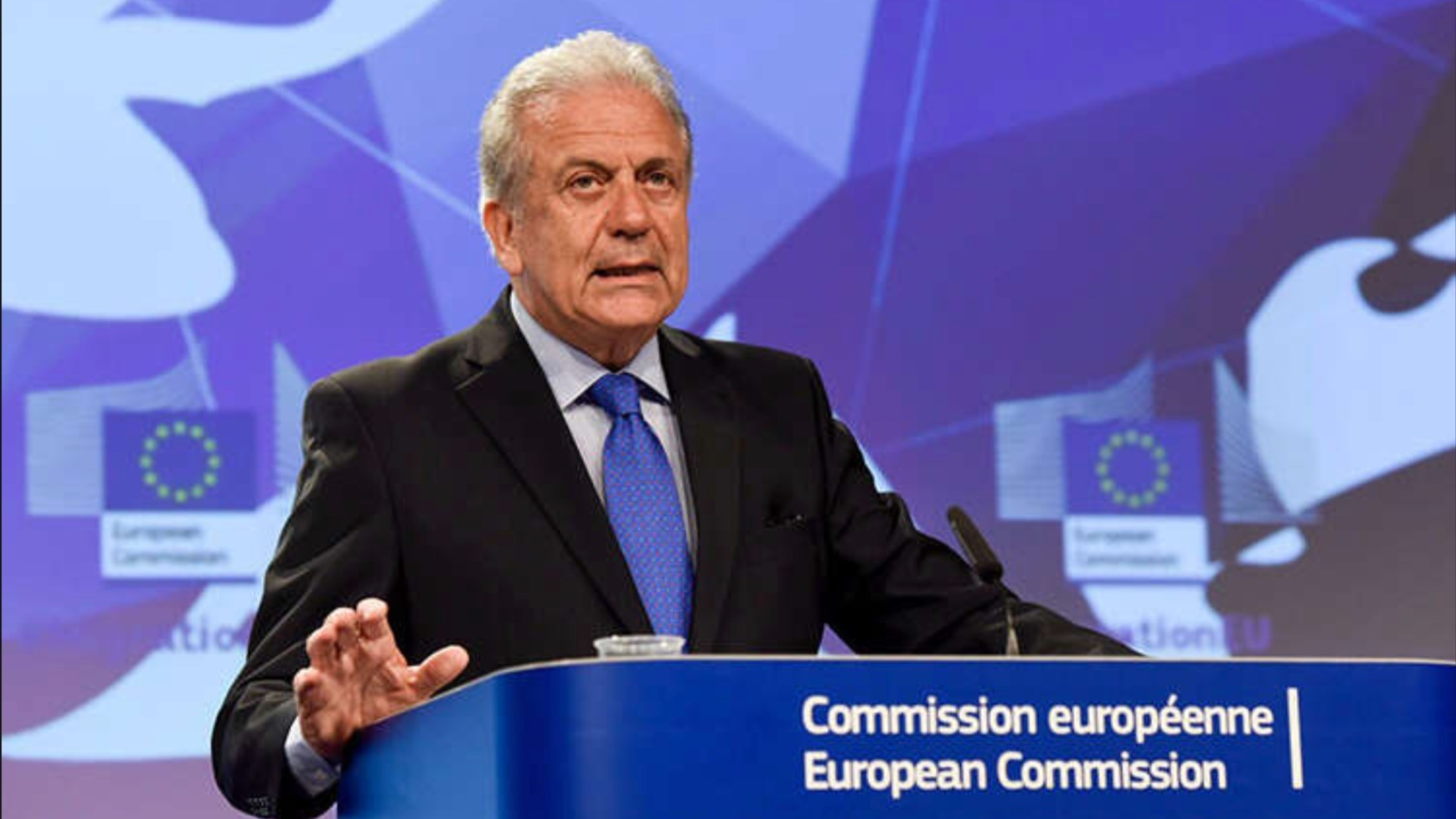 """""""Mr. Dimadis has been distinguished as the youngest correspondent who covered the Eurozone crisis with a strong track record of exclusive interviews. I assert for his professionalism and ethical integrity"""". - Dimitris Avramopoulos, European Commissioner on Migration, Citizenship and Home Affairs"""