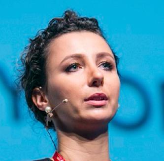 Izabela Albrycht - Chairperson, The Kosciuszko Institute & CYBERSEC HUB, GVF 2015